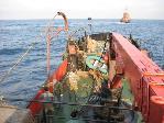 Прокладка подводного кабеля п.Невельск, Татарский пролив