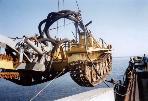 Прокладка подводного кабеля в Российской прибрежной зоне до 13 м изобаты